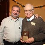 Joe Cavallo and December speaker Abe Hoffman