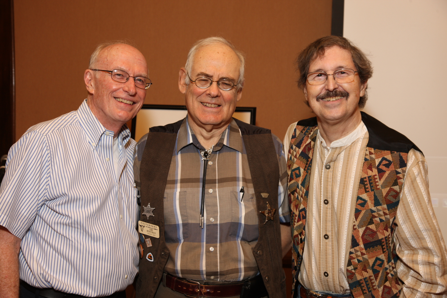 New Honorary Members 2013: Eric Nelson, Abe Hoffman, Paul Showalter