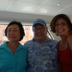 Carol and Ken Pauley and Geraldine Knatz