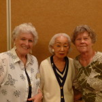 DeeDee Ruhlow, Ruth Malora, and Millie Tiscareno