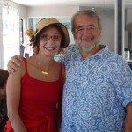 Geraldine Knatz and Joe Cavallo