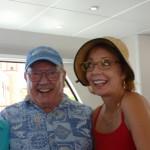 Ken Pauley and  Geraldine Knatz