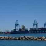 Port of Los Angeles -- the biggest commerical port in the US