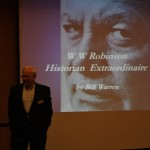 May 2015 talk on WW Robinson