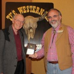 Nov 2015 Round Up Eric Nelson with his speaking award and John Selmer.