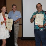 Sept 2015 Round Up Geraldine Knatz and Brian Dillon being awarded advanced membership status