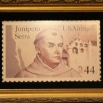 May 2016 US Postage Stamp of Father Serra